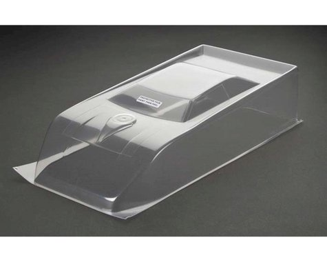 RJ Speed 200mm Dirt Oval Wedge Body (Clear)