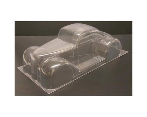 RJ Speed R/C Legends 37C Coupe Body (Clear)