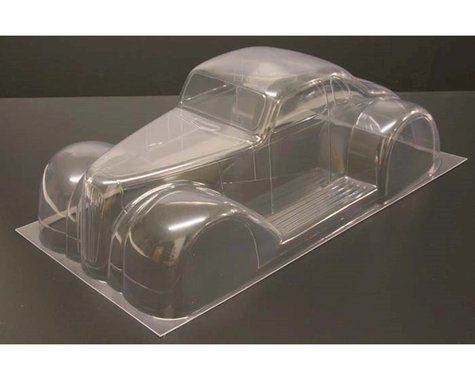 RJ Speed R/C Legends 37D Coupe Body (Clear)