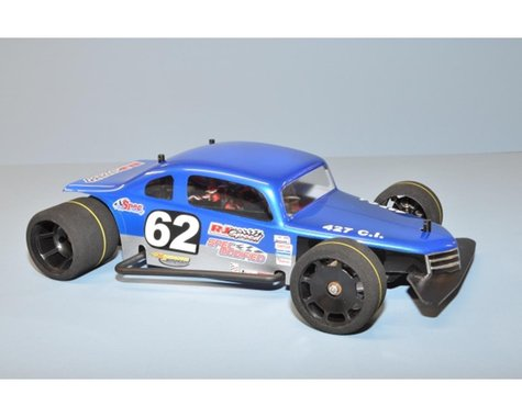 RJ Speed 1/10 Classic Modified Coupe Body 2014 (Clear)