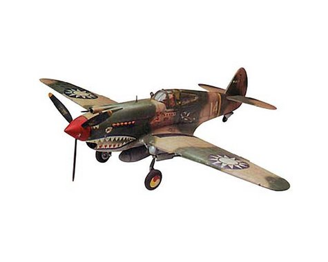 Revell 1/48 P-40B Tiger Shark
