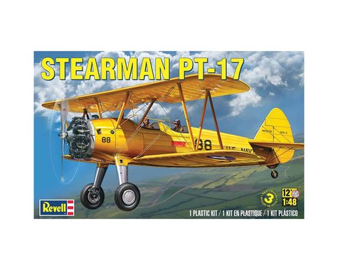 Revell Germany 1/48 Stearman PT-17