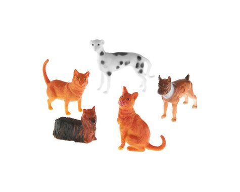 Revell Germany 77-1107 School Project Accessory Dogs/Cats