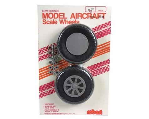 Robart UX350-Scale Diamond Tread Wheels