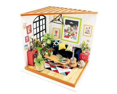 Robotime Rolife DIY Mini House Furniture Kit - Locuss Sitting Room
