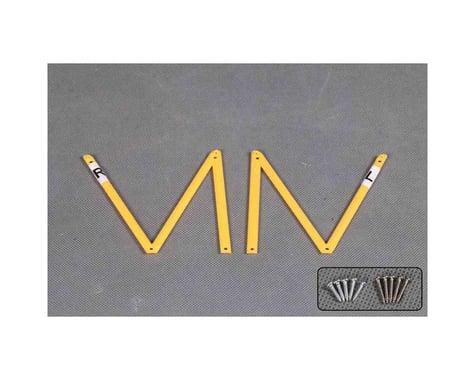 RocHobby Waco Cabane Struts (Yellow)