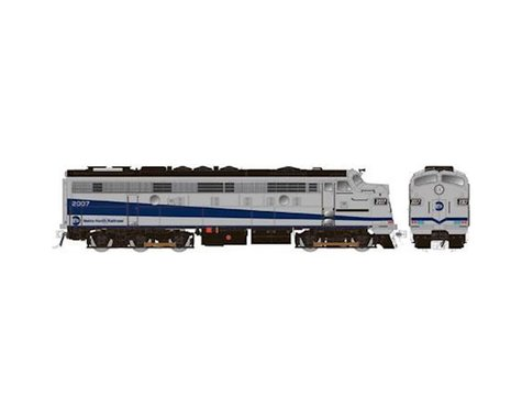Rapido Trains HO FL9 Rebuilt, MTNTH/Silver/Blue #2007