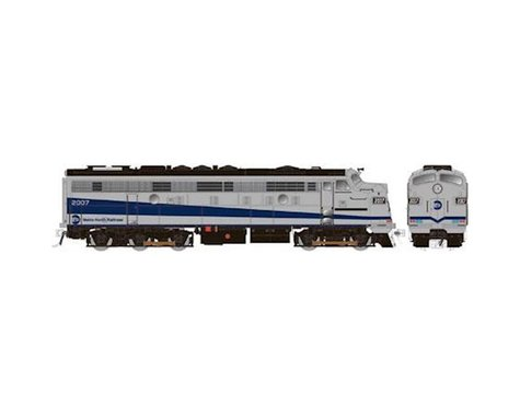 Rapido Trains HO FL9 w/DCC&Sound/Rebuilt,MTNTH/Silver/Blue #2013