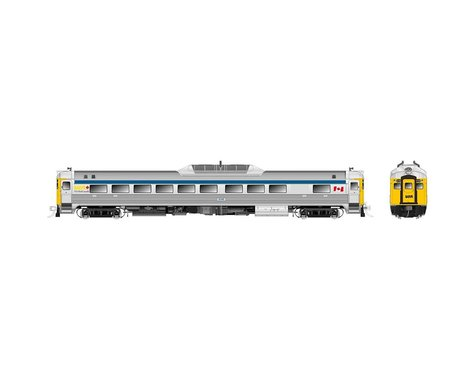 Rapido Trains HO Budd RDC1 Phase 2 w/DCC & Sound, VIA/Late #6135