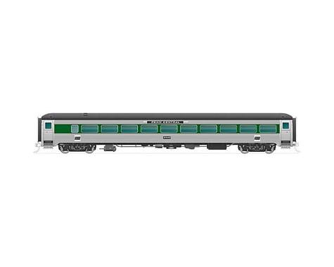 Rapido Trains N New Haven 8600-Series Coach PC Green W Bnd #2574