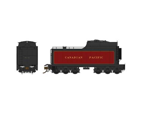 Rapido Trains HO 12,000-Gallon Coal Tender w/Buckeye Trucks, CPR