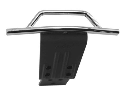 RPM Traxxas Slash 4x4 Front Bumper & Skid Plate (Chrome)
