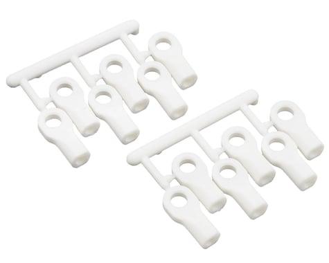 RPM Short Traxxas Turnbluckle Rod End Set (White) (12)