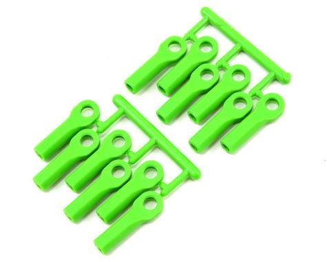RPM Long Traxxas Turnbuckle Rod End Set (Green) (12)