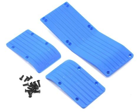 RPM 3-Piece Skid Plate Set (Blue) (T-Maxx #4908 & E-Maxx #3905)