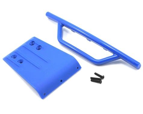 RPM Traxxas Slash Front Bumper & Skid Plate (Blue)