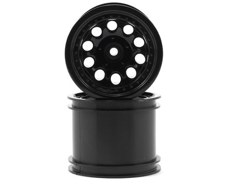 "RPM 12mm Hex ""Revolver 10 Hole"" Traxxas Electric Rear Wheels (2) (Black)"