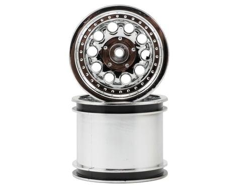 RPM Revolver 10 Hole Traxxas Electric Front/Nitro Rear Wheels (2) (Chrome)
