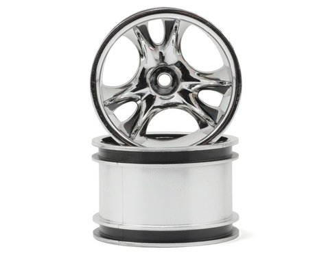 "RPM Clawz 2.2"" Rock Crawler Wheels (2) (Chrome) (Wide Wheelbase)"