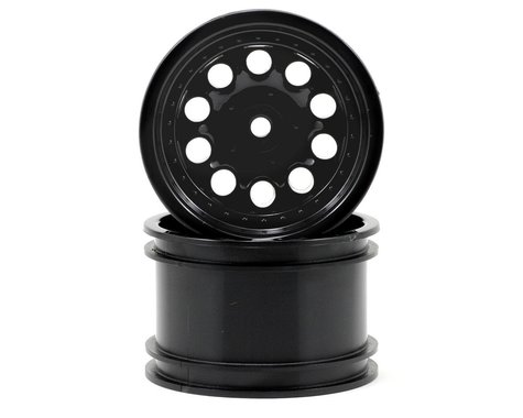 "RPM Revolver 2.2"" Rock Crawler Wheels (2) (Black) (Wide Wheelbase)"