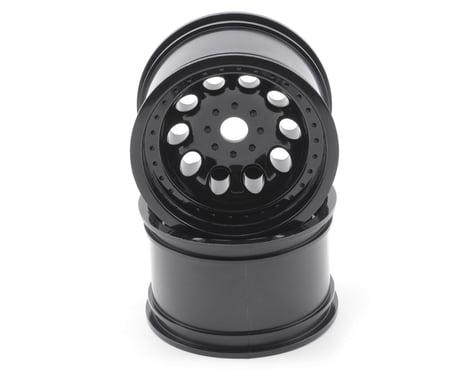 "RPM ""Revolver"" Monster Truck Wheels (17mm Hex) (2) (StableMaxx) (Black)"