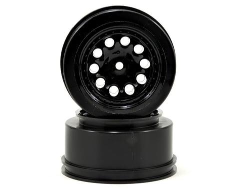"""RPM 12mm Spline Drive """"Revolver"""" Short Course Wheels (Black) (2) (Slash Front)"""