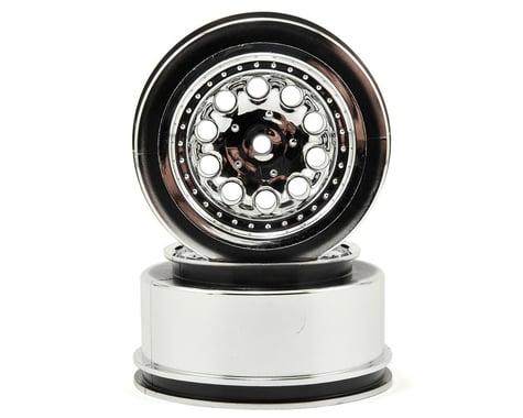 """RPM 12mm Spline Drive """"Revolver"""" Short Course Wheels (Chrome) (2) (Slash Front)"""