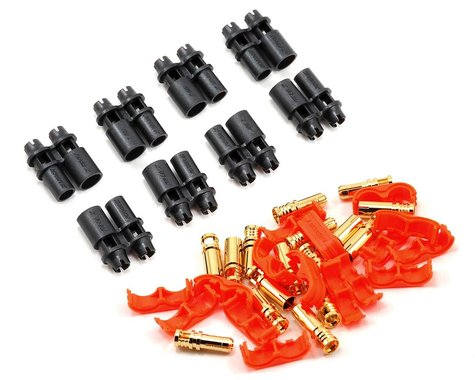 RCPROPLUS Pro-D3 Supra X Battery Connector (4 Sets) (14~16AWG)