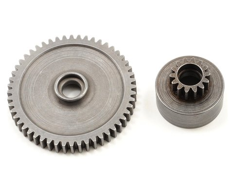 Robinson Racing Mod 1 Hard Steel Clutch Bell/Spur Gear Combo (52T/14T)