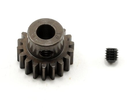 Robinson Racing Extra Hard Steel .8 Mod Pinion Gear w/5mm Bore (18T)
