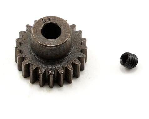 Robinson Racing Extra Hard Steel .8 Mod Pinion Gear w/5mm Bore (21T)
