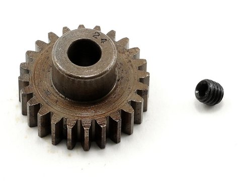 Robinson Racing Extra Hard Steel .8 Mod Pinion Gear w/5mm Bore (24T)