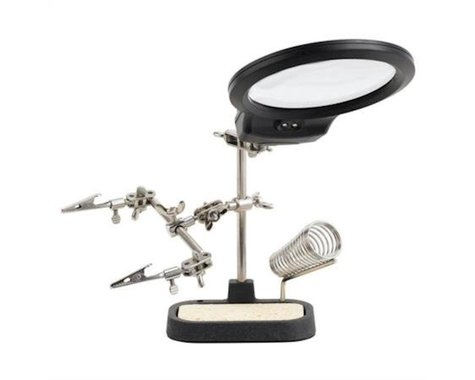 RadioShack LED Helping Hands with Magnifier