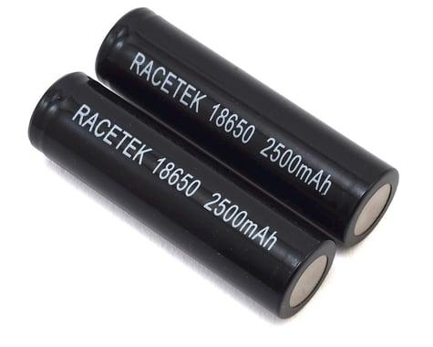 RaceTek 18650 Li-Ion Battery (2) (3.7V/2500mAh)