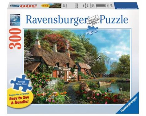 Ravensburger Cottage on a Lake 300pcs Large Format