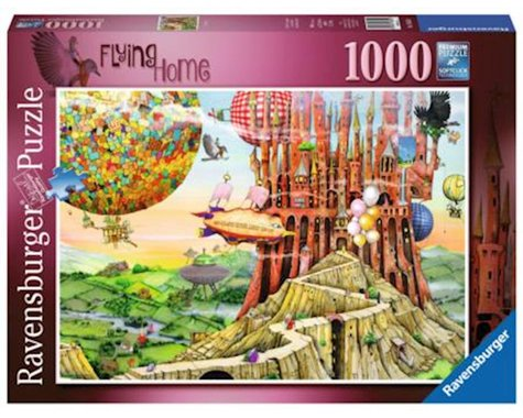 Ravensburger Flying Home Puzzle (1000 Piece)
