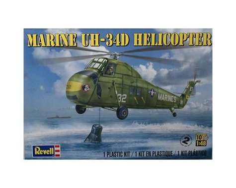 Revell Germany 1/48 Marine UH-34D Helicopter