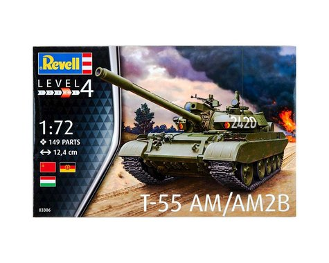 Revell Germany 03306 1/72 T-55AM/T-55AM2B