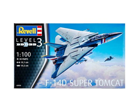 Revell Germany 03950 1/100 F-14D Super Tomcat