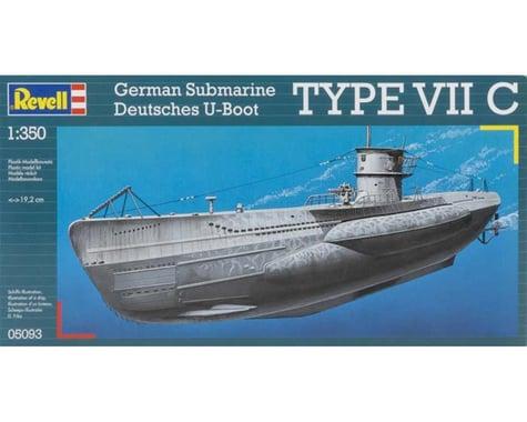 Revell Germany  1/350 U-Boat Type Viic German Submarine