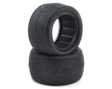 """Raw Speed RC Slick 2.2"""" 1/10 Rear Buggy Tires (2) (Soft - Long Wear)"""