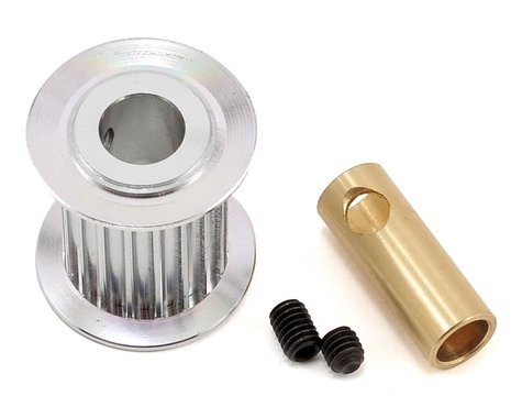 SAB Goblin Aluminum Motor Pulley (18T) (6/8mm Motor Shaft)