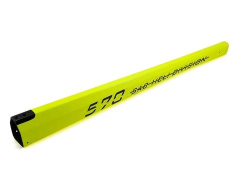 SAB Goblin Carbon Fiber Tail Boom (Yellow)