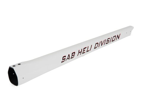 SAB Goblin Carbon Fiber Tail Boom (500 Sport/White)