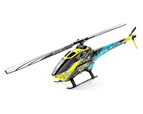 SAB Goblin 580 Kraken Flybarless Electric Helicopter Kit