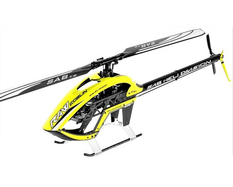 SAB Goblin Raw 700 Electric Helicopter Kit (Yellow)