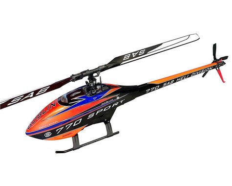 SAB Goblin 770 Sport Flybarless Electric Helicopter Kit