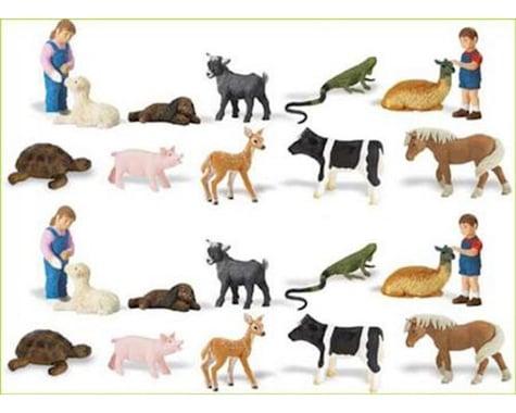 Safari 683704 Safari LTD Petting Zoo Toob