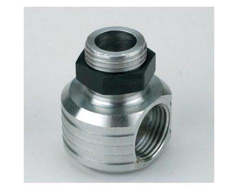 Saito Engines Muffler, Right Angle Adaptor: Y