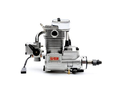 Saito Engines FG-11 Gas Single Cyliner Engine: BZ